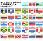 Ιστός σημαιών κουμπιών Στοκ Φωτογραφίες