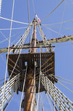 Ιστός σκαφών Στοκ Φωτογραφίες