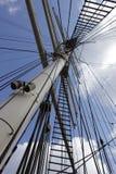 Ιστός στον ουρανό Στοκ φωτογραφία με δικαίωμα ελεύθερης χρήσης