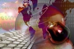 Ιστός τεχνολογίας Διαδ&i στοκ εικόνες