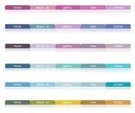 Ιστός χρώματος κουμπιών Στοκ Εικόνες