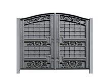 Ισχυρές πύλες από τη διακόσμηση Στοκ φωτογραφία με δικαίωμα ελεύθερης χρήσης