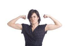 ισχυρή γυναίκα Στοκ Εικόνες