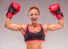 ισχυρή γυναίκα Στοκ Εικόνα
