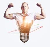 Ισχυρή επιχειρησιακή ιδέα Στοκ φωτογραφία με δικαίωμα ελεύθερης χρήσης