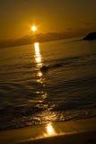 ισχυρή κατακόρυφος ηλιοβασιλέματος Στοκ φωτογραφίες με δικαίωμα ελεύθερης χρήσης