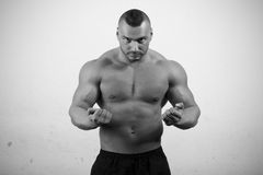Ισχυρός αθλητής Στοκ φωτογραφία με δικαίωμα ελεύθερης χρήσης