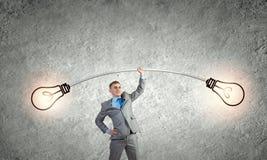 Ισχυρός επιχειρηματίας Στοκ εικόνες με δικαίωμα ελεύθερης χρήσης