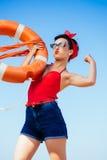 Ισχυρός καρφίτσα-επάνω στοκ φωτογραφίες με δικαίωμα ελεύθερης χρήσης
