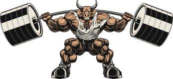 Ισχυρός ταύρος απεικόνιση αποθεμάτων