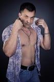 Ισχυρός υγιής άνδρας στοκ φωτογραφίες