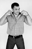Ισχυρός υγιής άνδρας στοκ φωτογραφία με δικαίωμα ελεύθερης χρήσης