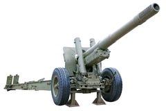 Ισχυρό howitzer Στοκ φωτογραφία με δικαίωμα ελεύθερης χρήσης