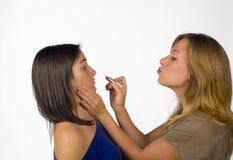Ισχυρό makeup στοκ εικόνες