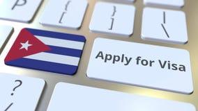 ΙΣΧΥΣΤΕ ΓΙΑ το κείμενο ΘΕΩΡΗΣΕΩΝ και τη σημαία της Κούβας στα κουμπιά στο πληκτρολόγιο υπολογιστών τρισδιάστατη εννοιολογική απόδ στοκ φωτογραφία με δικαίωμα ελεύθερης χρήσης