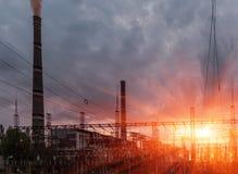 ισχύς αντιγράφων άνθρακα κάποιος διαστημικός σταθμός Στοκ Φωτογραφίες