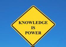ισχύς γνώσης στοκ εικόνα με δικαίωμα ελεύθερης χρήσης