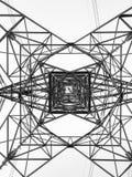 ισχύς γραμμών δικτύου Στοκ εικόνα με δικαίωμα ελεύθερης χρήσης