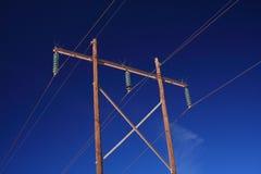 ισχύς γραμμών Στοκ φωτογραφίες με δικαίωμα ελεύθερης χρήσης