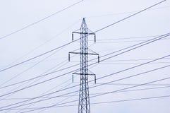 ισχύς γραμμών Στοκ εικόνα με δικαίωμα ελεύθερης χρήσης