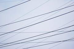 ισχύς γραμμών Στοκ φωτογραφία με δικαίωμα ελεύθερης χρήσης