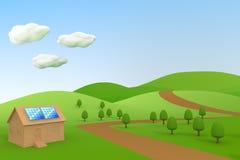 ισχύς επιτροπών ηλιακή ελεύθερη απεικόνιση δικαιώματος