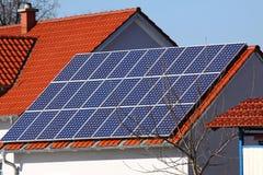 ισχύς ηλιακή Στοκ Φωτογραφίες