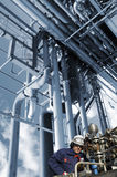 Ισχύς και ενεργειακές βιομηχανίες Στοκ εικόνες με δικαίωμα ελεύθερης χρήσης
