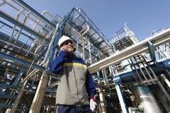 Ισχύς και ενεργειακές βιομηχανίες Στοκ Εικόνα