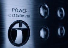 ισχύς κουμπιών Στοκ εικόνες με δικαίωμα ελεύθερης χρήσης