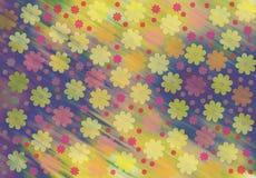 Ισχύς λουλουδιών διανυσματική απεικόνιση