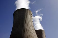 ισχύς πυρηνικών εγκαταστάσεων Στοκ φωτογραφία με δικαίωμα ελεύθερης χρήσης