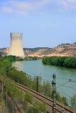 ισχύς πυρηνικών εγκαταστάσεων στοκ εικόνες με δικαίωμα ελεύθερης χρήσης