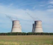 ισχύς πυρηνικών εγκαταστάσεων Στοκ φωτογραφίες με δικαίωμα ελεύθερης χρήσης