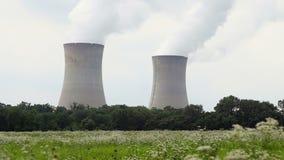 ισχύς πυρηνικών εγκαταστάσεων απόθεμα βίντεο
