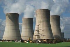 ισχύς πυρηνικών εγκαταστά& Στοκ Φωτογραφίες
