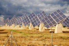 ισχύς φυτών ηλιακή Στοκ Εικόνες