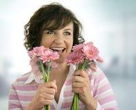 ισχύς 2 λουλουδιών Στοκ Εικόνα