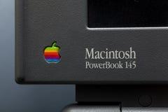 ισχύς Macintosh 145 βιβλίων Στοκ Εικόνες