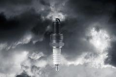 ισχύς sparkplugs Στοκ φωτογραφία με δικαίωμα ελεύθερης χρήσης
