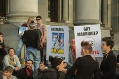 Ισότητα γάμου της Αδελαΐδα στοκ φωτογραφία με δικαίωμα ελεύθερης χρήσης
