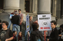 Ισότητα γάμου της Αδελαΐδα στοκ φωτογραφίες
