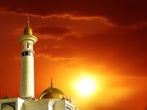 Ισλαμικές κάρτες Eid Μουμπάρακ χαιρετισμού για τις μουσουλμανικές διακοπές Eid-Ul-α Στοκ Εικόνες