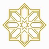 Ισλαμική ή αραβική μορφή Στοκ Εικόνα