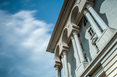 Ισλαμική αρχιτεκτονική στο φως της ημέρας Στοκ φωτογραφία με δικαίωμα ελεύθερης χρήσης