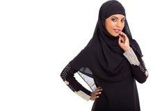 Ισλαμική γυναίκα στοκ φωτογραφία