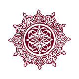 Ισλαμική τέχνη λουλουδιών Στοκ εικόνες με δικαίωμα ελεύθερης χρήσης