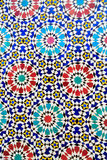 Ισλαμικό μαροκινό ύφος μωσαϊκών χρήσιμο ως υπόβαθρο Στοκ φωτογραφία με δικαίωμα ελεύθερης χρήσης