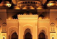 Ισλαμικό μουσουλμανικό τέμενος Στοκ Φωτογραφία