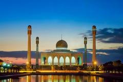 ισλαμικό μουσουλμανικό τέμενος Στοκ Εικόνες